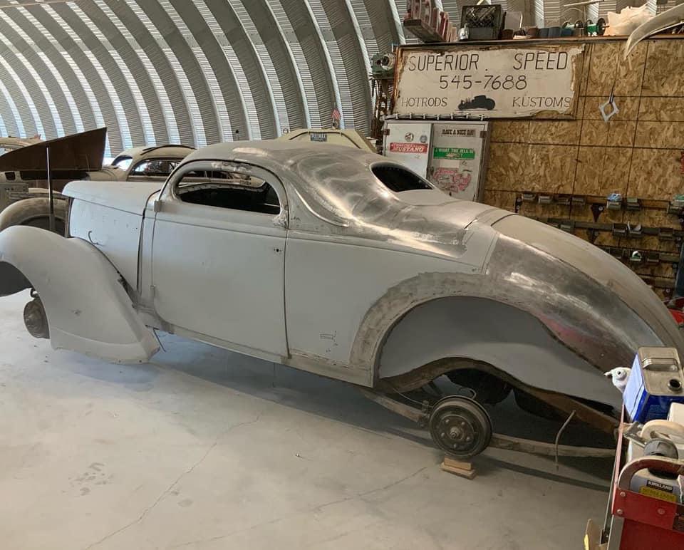 1937 Nash Lafayette - Scott Menges 13973110