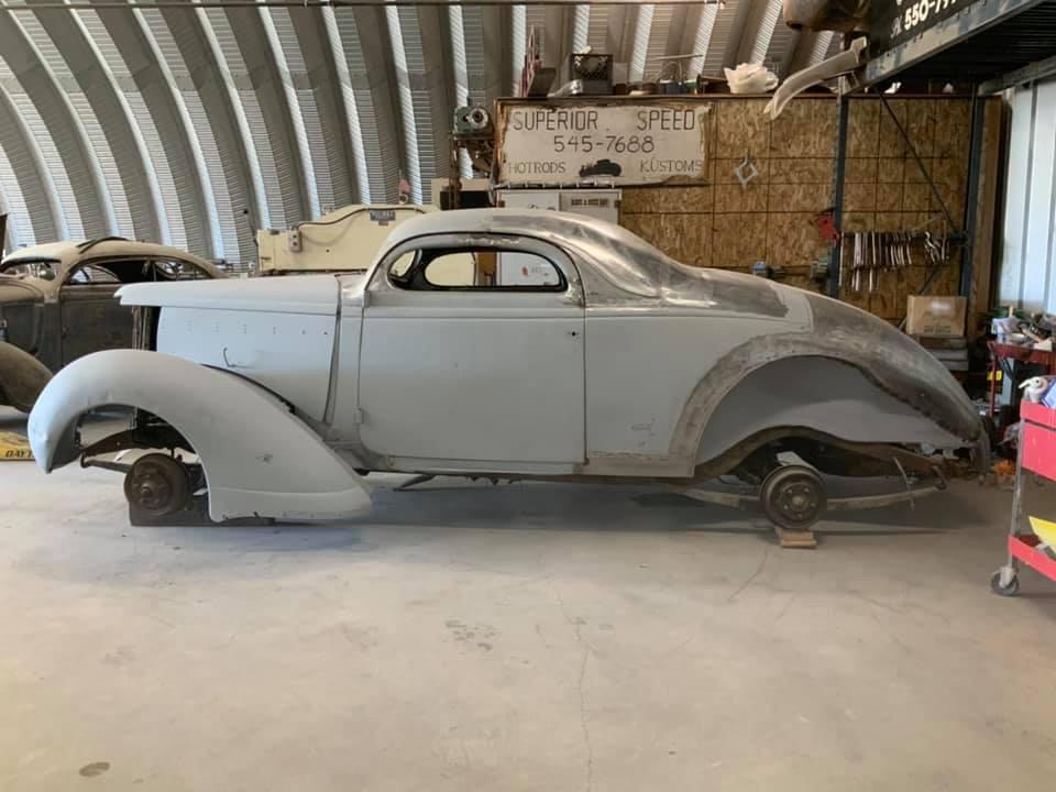 1937 Nash Lafayette - Scott Menges 14002310