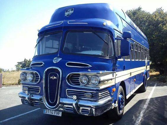 1961 Skoda Bus  - 58' Edsel look bus - modified in Spain and used as a mobile stage for Red Bull campaign  14222110