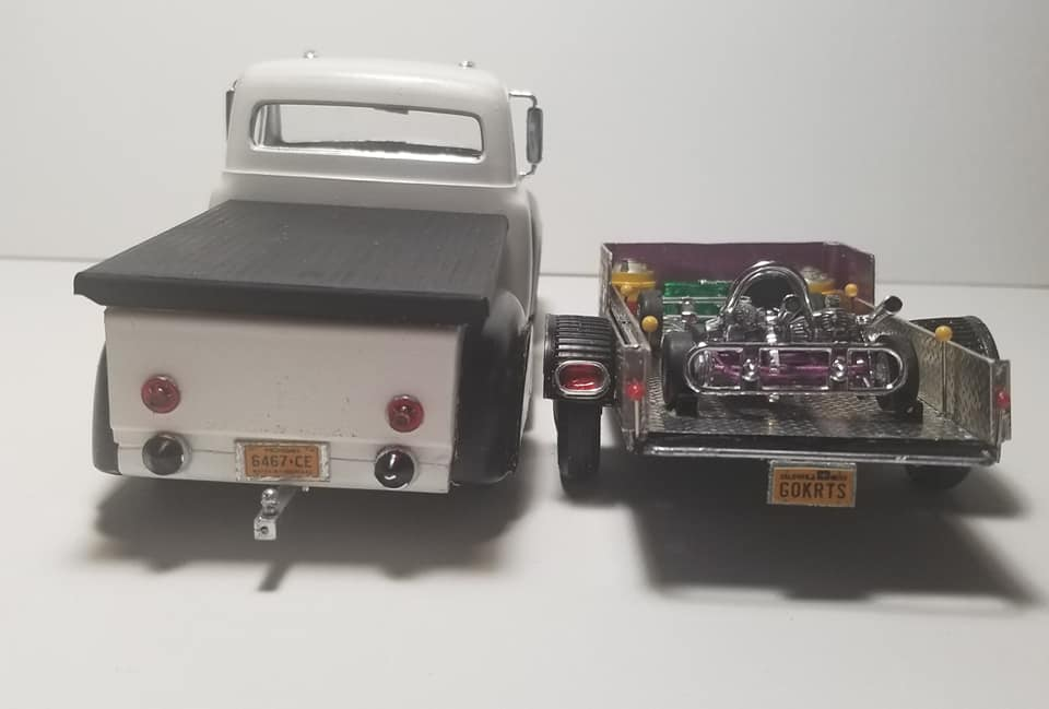 1953 Ford f100 - Customizing Kit trophie series 14359310