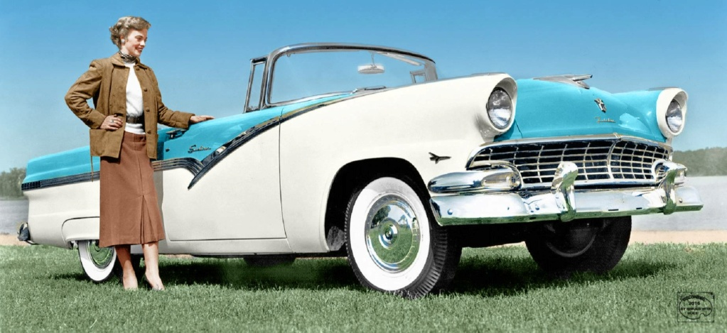 B & W Classic cars and vintage pics colorized by Imbued with hues 14918910
