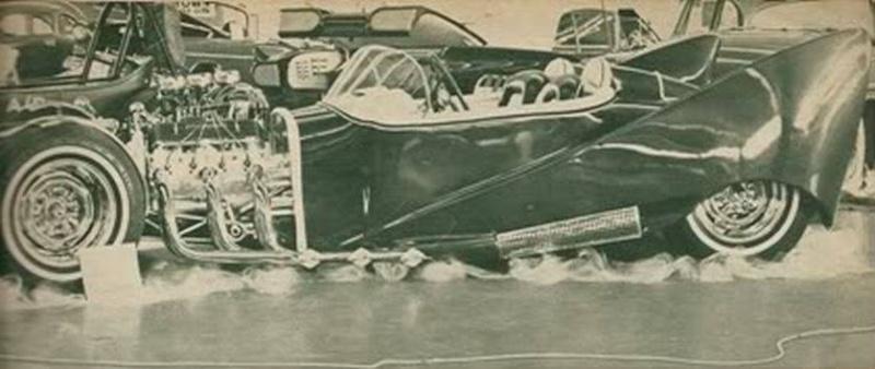 John Burnes, The Manta Ray - 32 Ford radical show rod Bat - Toronto, Ont. Car Craft, Jul 1963 15024910