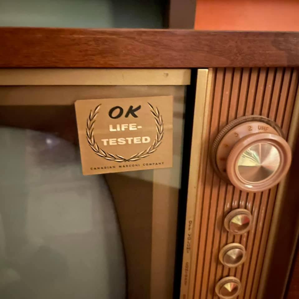 Marconi Canada - Combined Radio Tv - late 50s 15048210