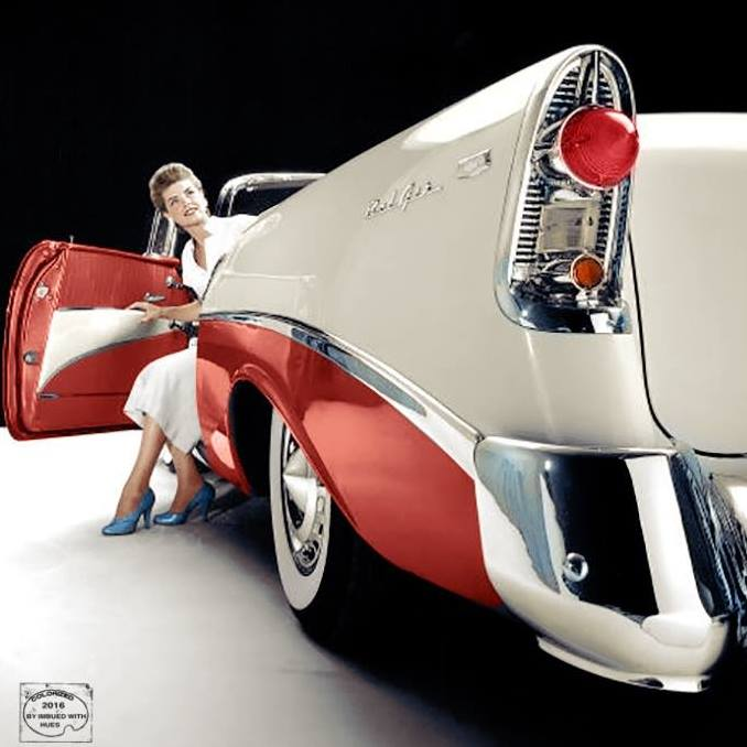 B & W Classic cars and vintage pics colorized by Imbued with hues 15193510