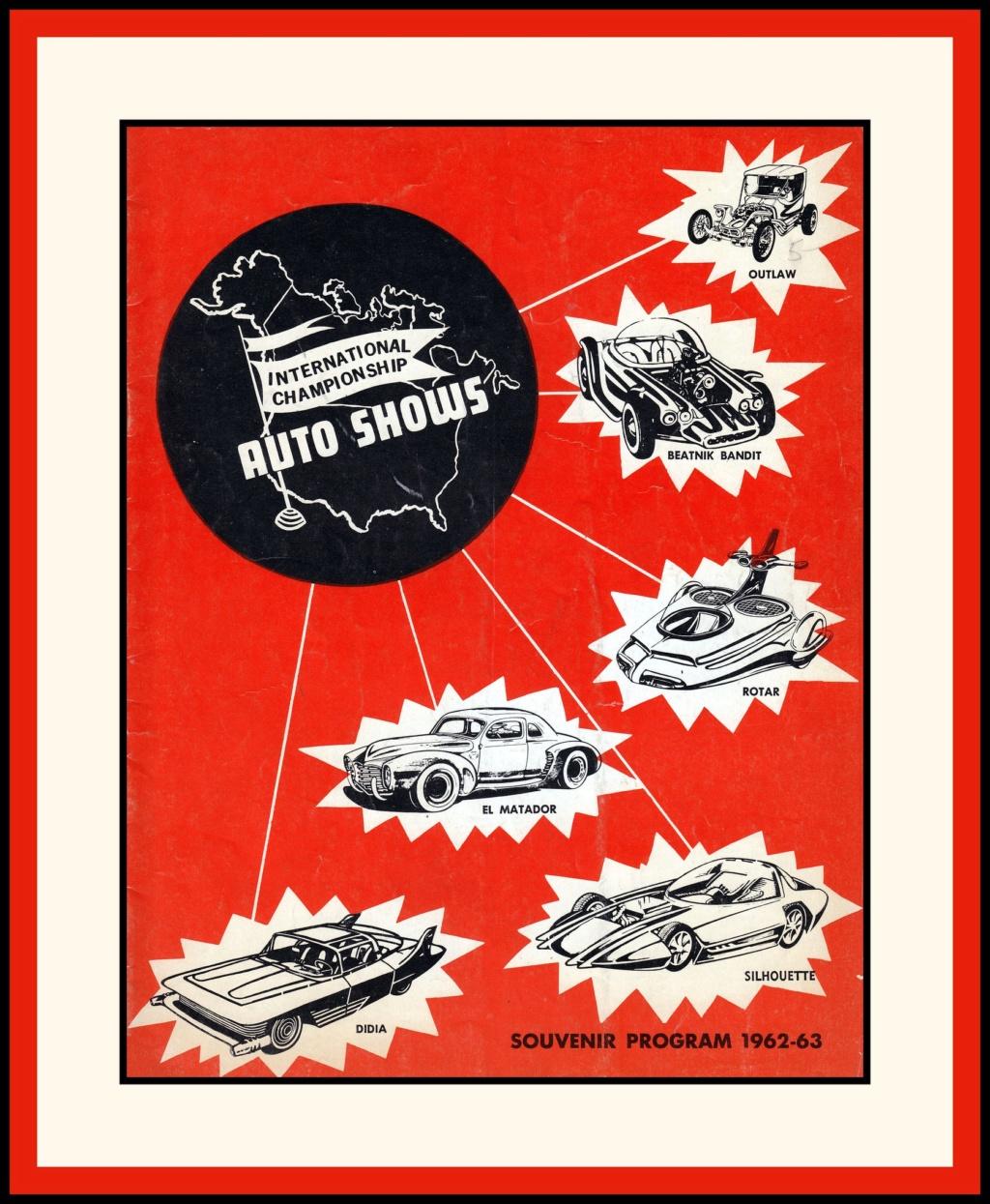 International Championship Auto Show Program, 1962 15229310