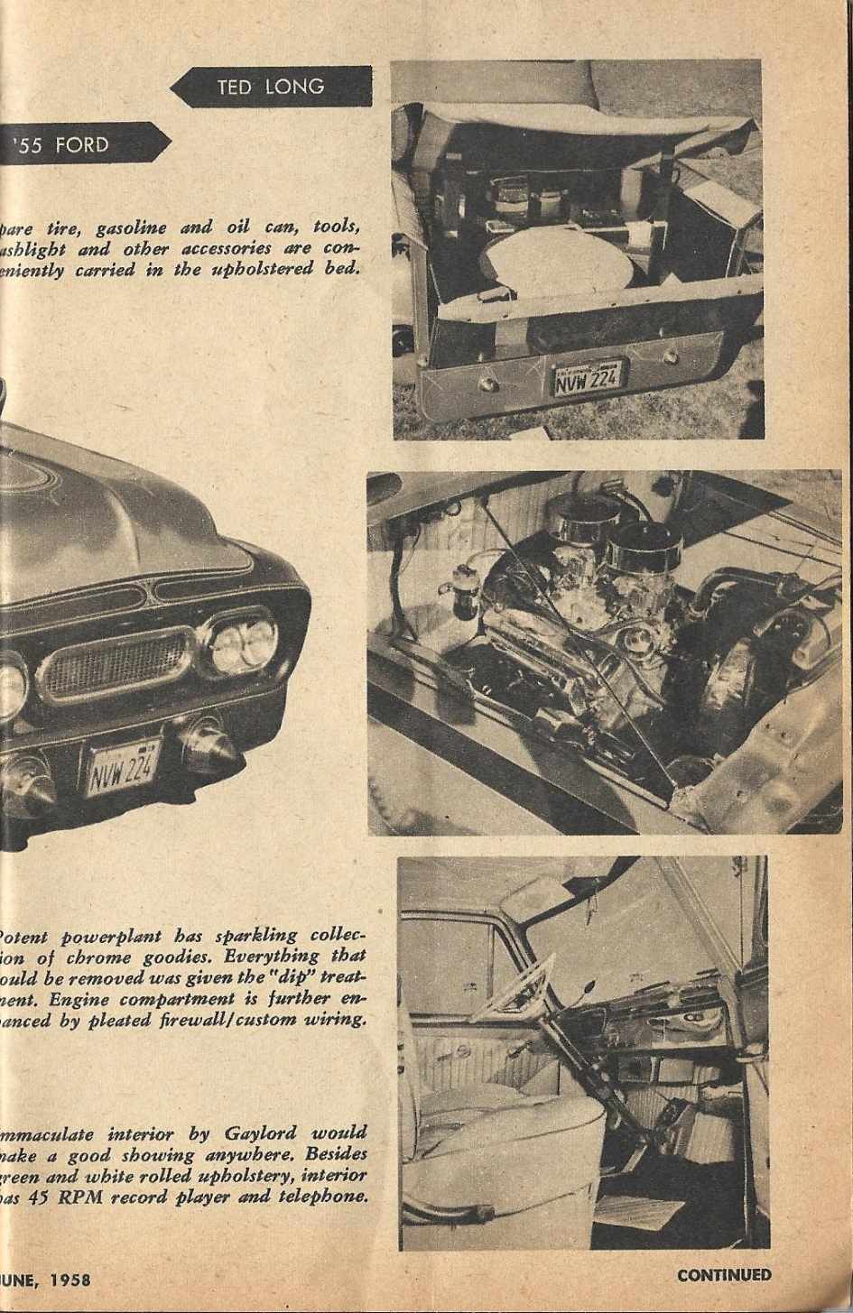 Car Craft - Special Pick Up June 1959 - Pick up Pictorial 1523