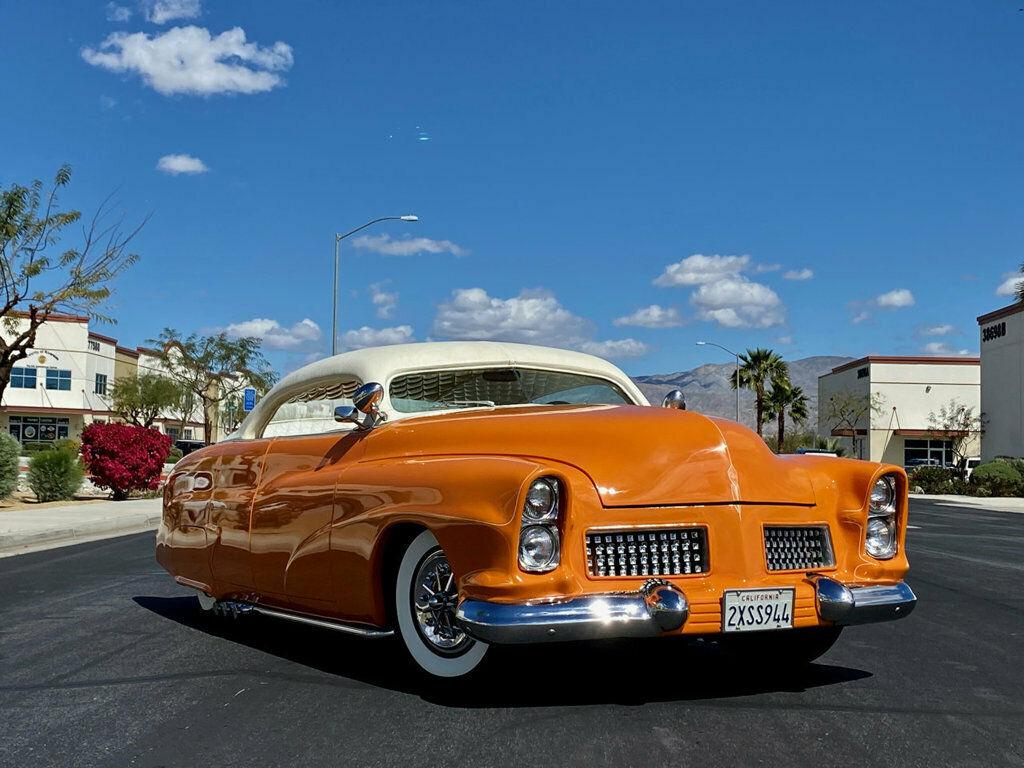 "1951 Mercury Custom Sedan BUILT BY HALL OF FAME KUSTOMIZER FRANK DE ROSA  INDUSTRY KNOWN AS ""MERCURY 4"" 153"