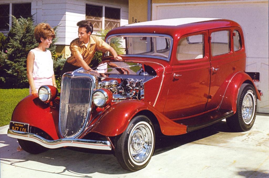 "Hot rod in street - Vintage pics - ""Photos rétros"" -  - Page 7 15331010"