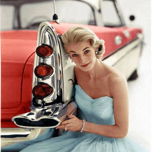 B & W Classic cars and vintage pics colorized by Imbued with hues 15871710