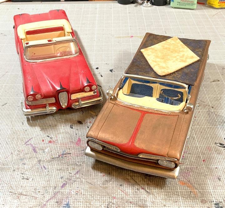 Vintage built automobile model kit survivor - Hot rod et Custom car maquettes montées anciennes - Page 14 16100010