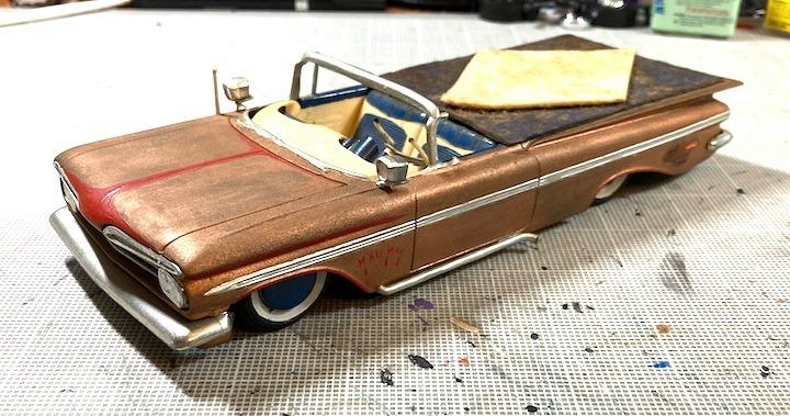 Vintage built automobile model kit survivor - Hot rod et Custom car maquettes montées anciennes - Page 14 16154310