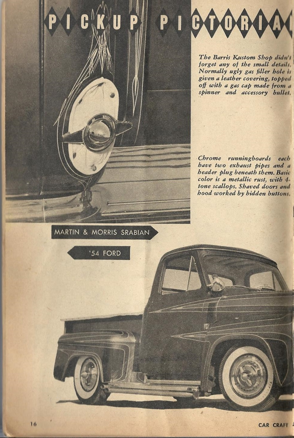 Car Craft - Special Pick Up June 1959 - Pick up Pictorial 1624