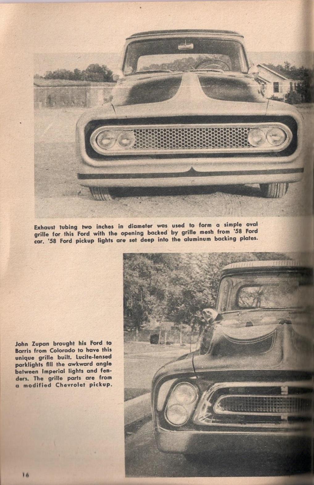 Rod et Custom - January 1959 - Tricks for Trucks - new ideas for pick up 1625