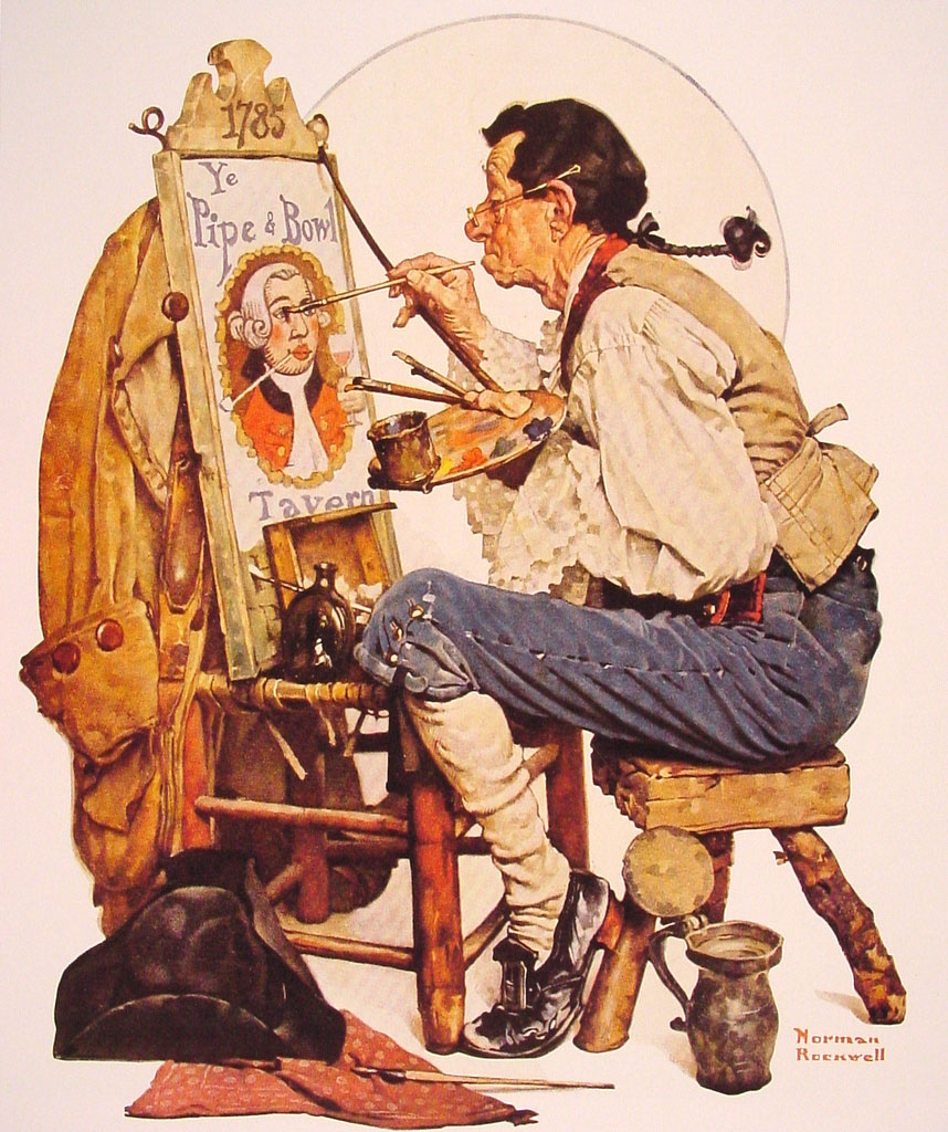 Norman Rockwell - painter (1894 -1978) 16849010