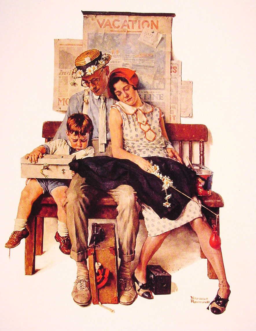 Norman Rockwell - painter (1894 -1978) 16853910