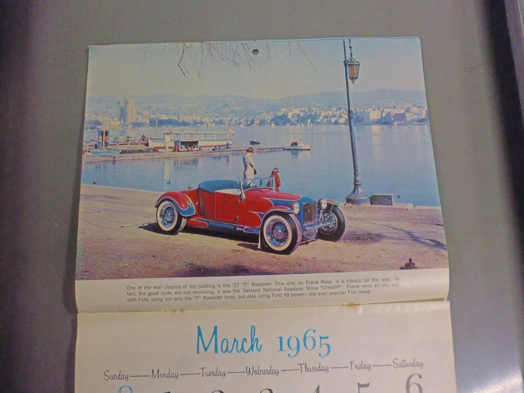 1 st Annual Speed Custom and Hot Rod 1965 calendar 16935510