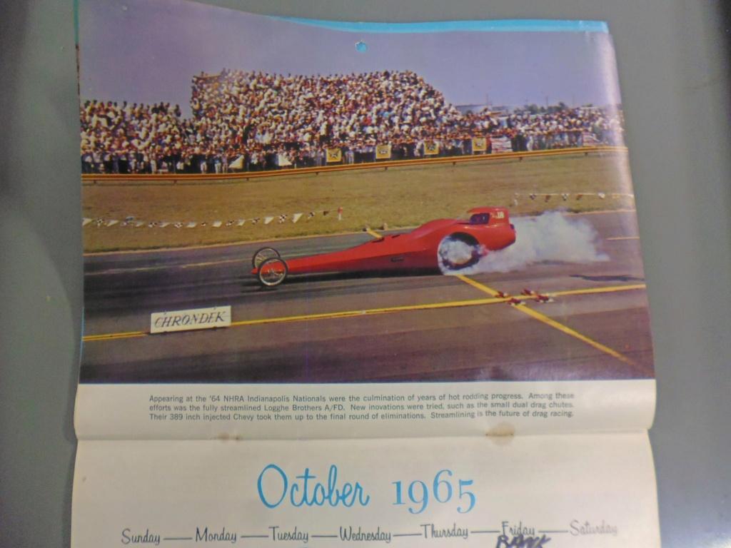 1 st Annual Speed Custom and Hot Rod 1965 calendar 16956510