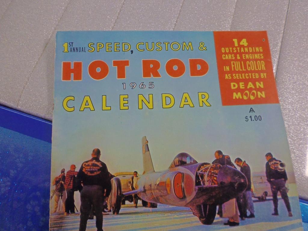 1 st Annual Speed Custom and Hot Rod 1965 calendar 16959411
