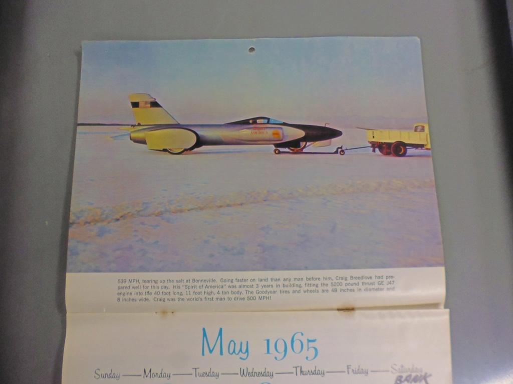 1 st Annual Speed Custom and Hot Rod 1965 calendar 16967210