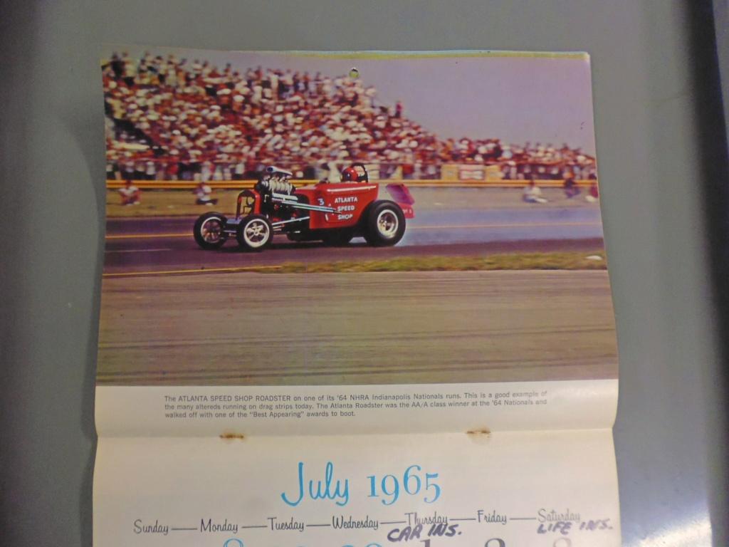 1 st Annual Speed Custom and Hot Rod 1965 calendar 16996610