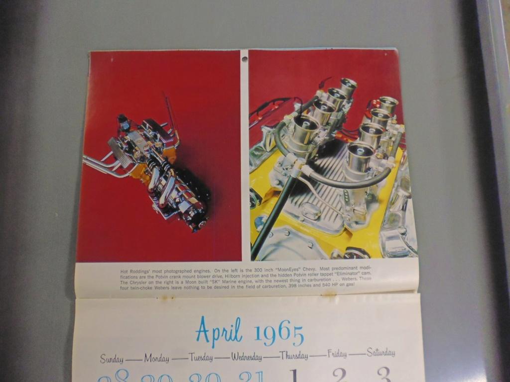 1 st Annual Speed Custom and Hot Rod 1965 calendar 17000810