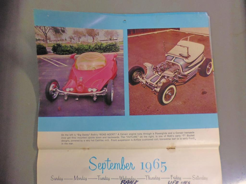 1 st Annual Speed Custom and Hot Rod 1965 calendar 17004711