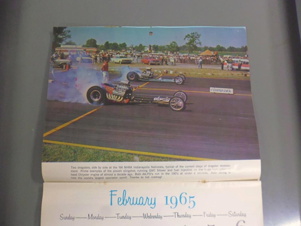 1 st Annual Speed Custom and Hot Rod 1965 calendar 17056710