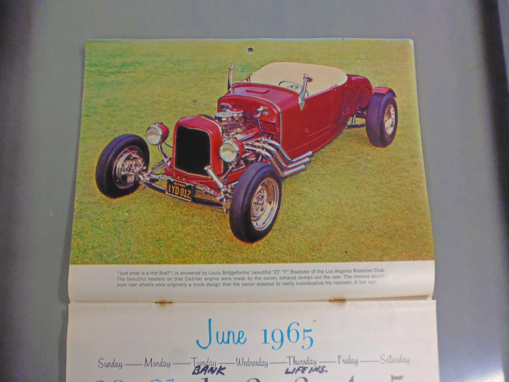 1 st Annual Speed Custom and Hot Rod 1965 calendar 17069911