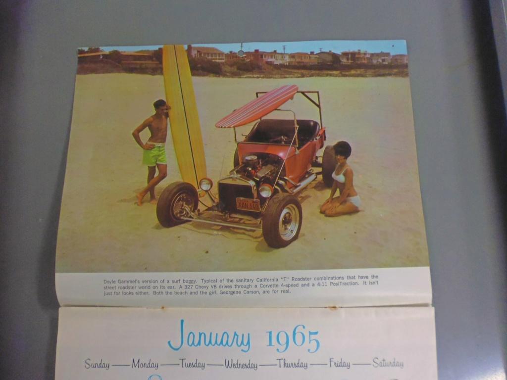 1 st Annual Speed Custom and Hot Rod 1965 calendar 17127710