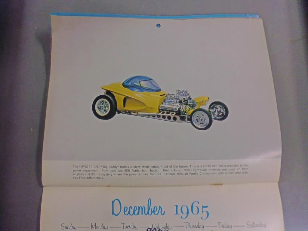 1 st Annual Speed Custom and Hot Rod 1965 calendar 17132110
