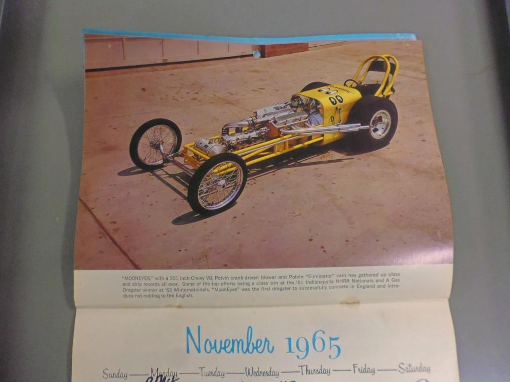 1 st Annual Speed Custom and Hot Rod 1965 calendar 17138910