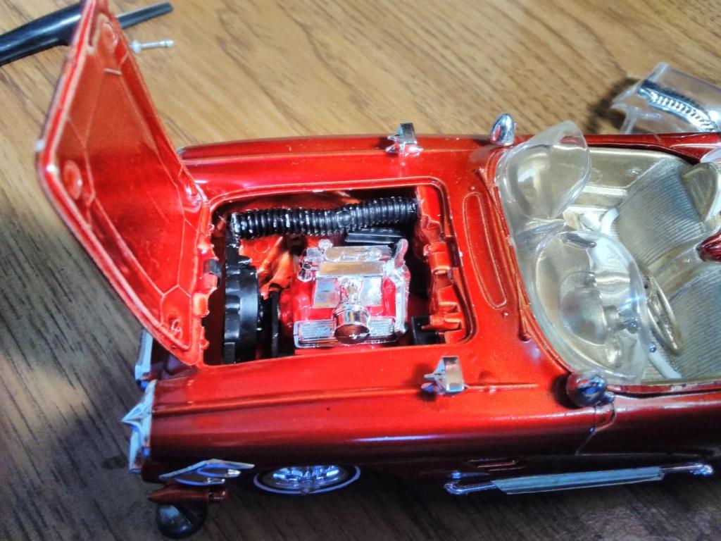 1961 Chevrolet Corvette Convertible - Amt customizing kit  17209710