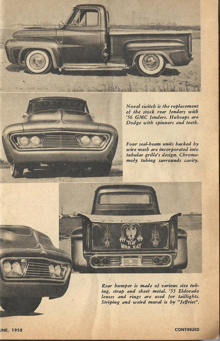 Car Craft - Special Pick Up June 1959 - Pick up Pictorial 1721