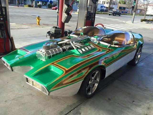 "Splittin image ""Hot Wheels concept show rod "" Gotham Garage 17447410"