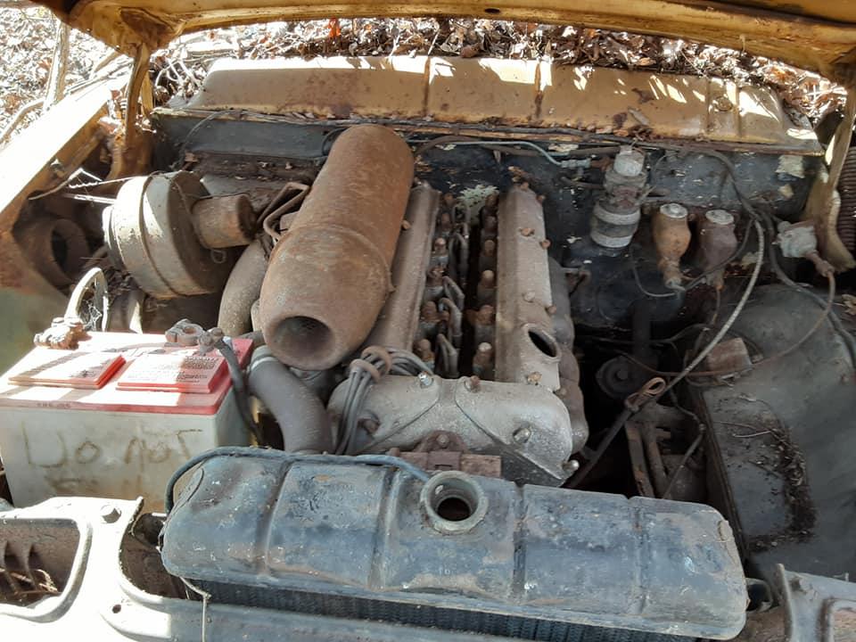 1957 Ford custom with jaguar engine junkyard 17482410