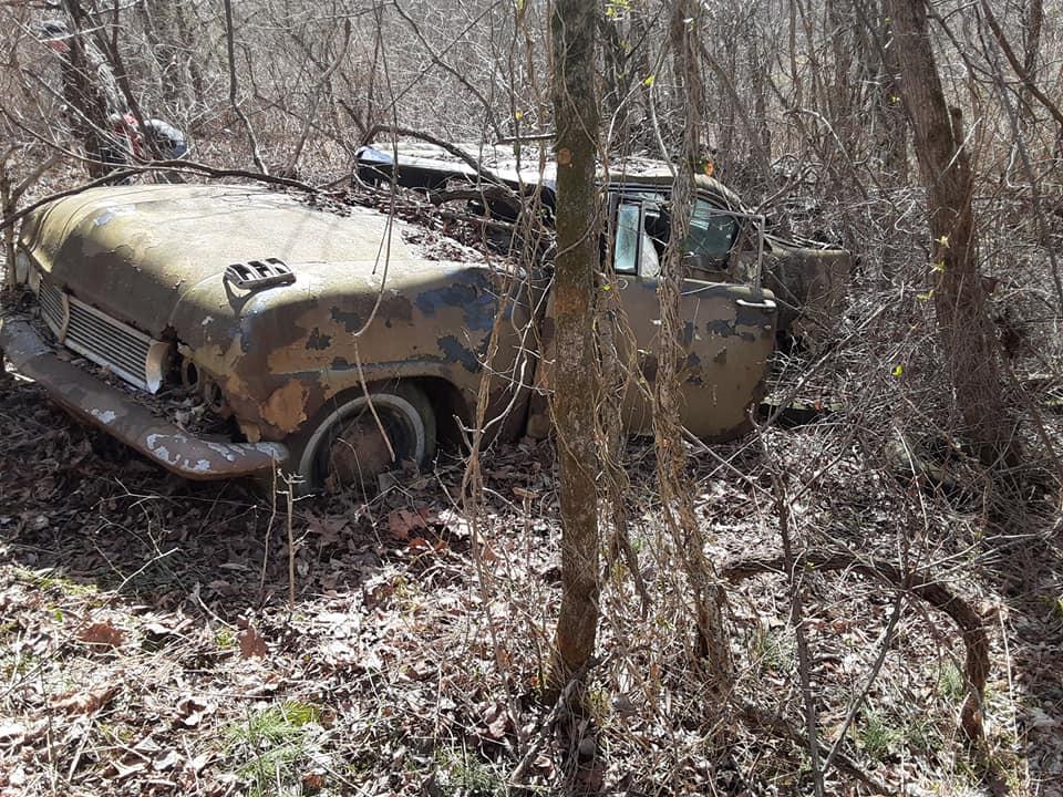 1957 Ford custom with jaguar engine junkyard 17766710