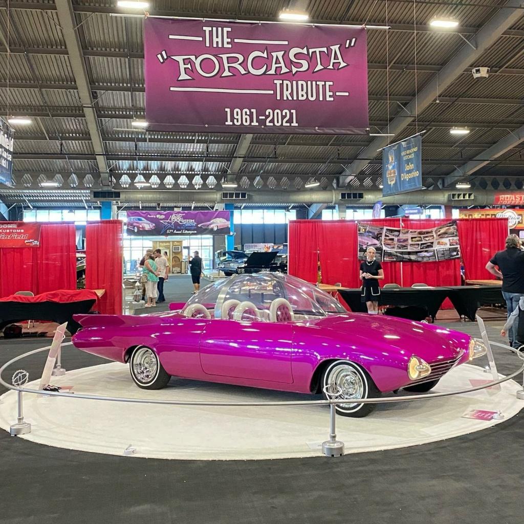 Forcasta tribute - Owner Builder Everett Reynolds _ original concept design Darrill Starbird 1961 - Chevrolet Corvair 1960 17796210