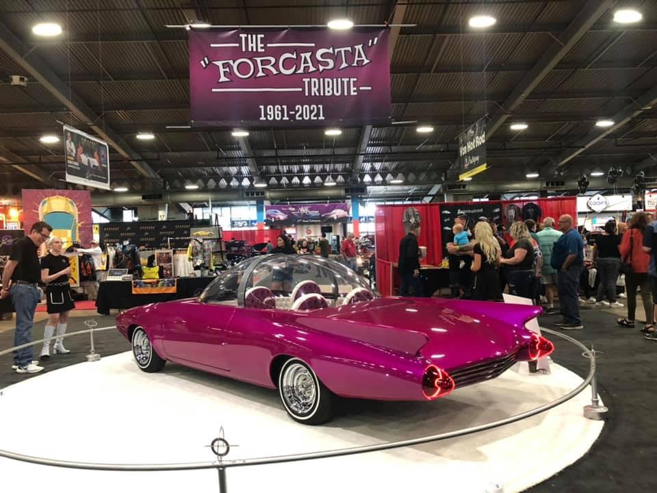 Forcasta tribute - Owner Builder Everett Reynolds _ original concept design Darrill Starbird 1961 - Chevrolet Corvair 1960 17891010