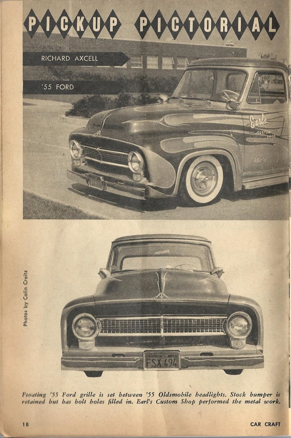 Car Craft - Special Pick Up June 1959 - Pick up Pictorial 1821