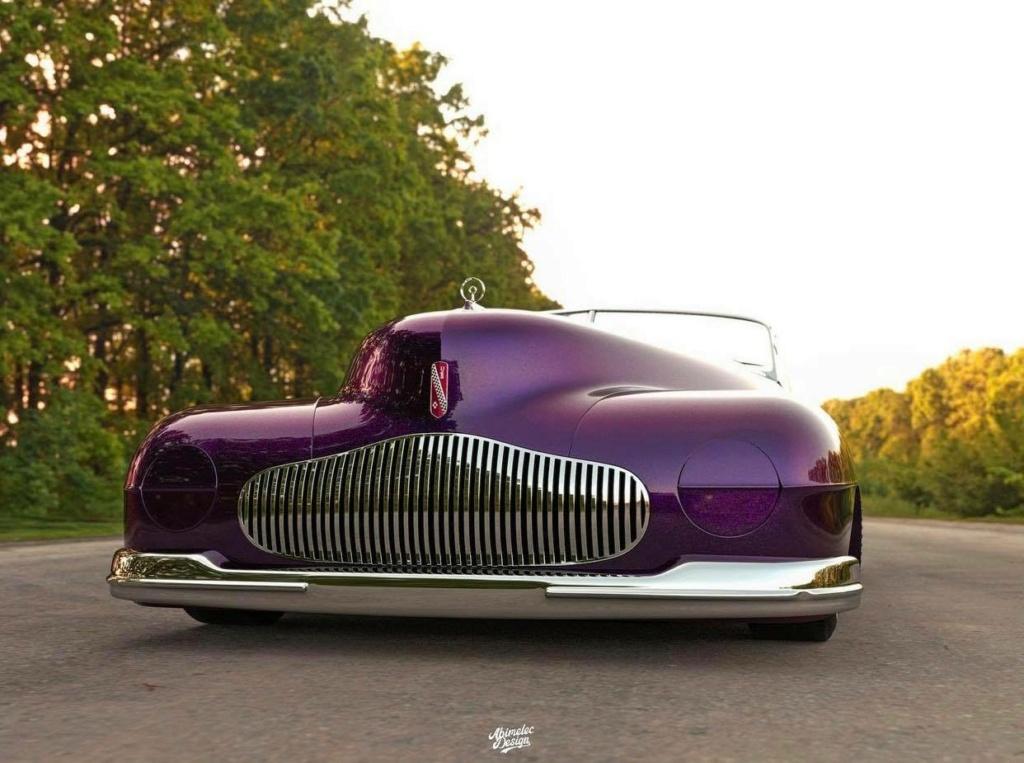 Abimelec Design - Buick Y Job Concept car Low Rider - Digitaly art 18378110