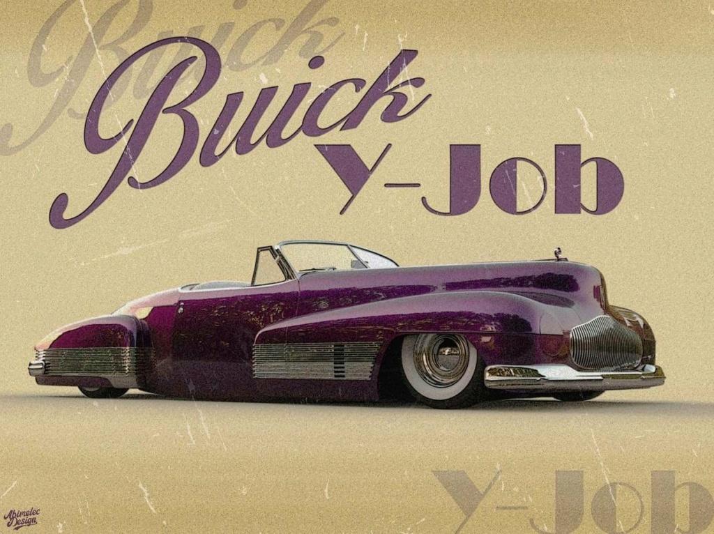 Abimelec Design - Buick Y Job Concept car Low Rider - Digitaly art 18409010