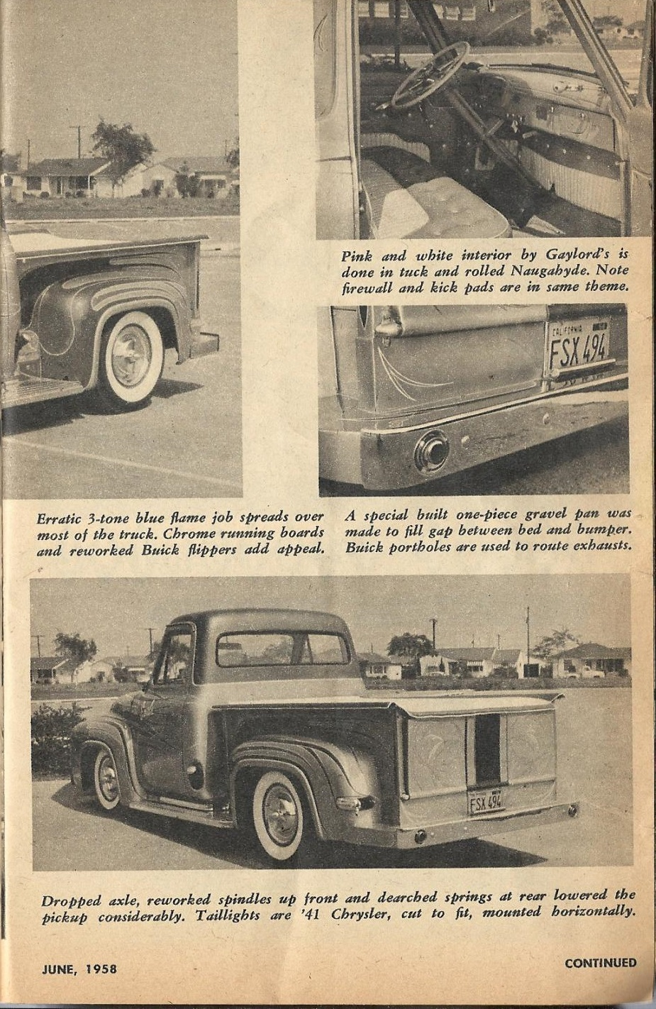 Car Craft - Special Pick Up June 1959 - Pick up Pictorial 1919