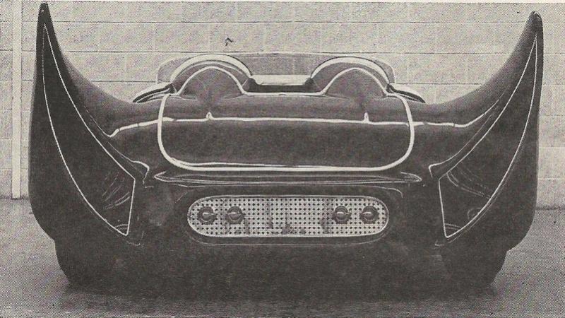 John Burnes, The Manta Ray - 32 Ford radical show rod Bat - Toronto, Ont. Car Craft, Jul 1963 19394710