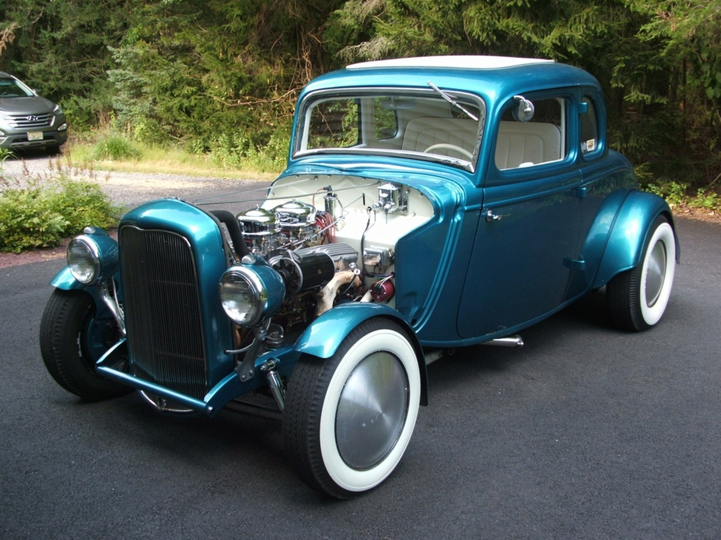 1934 Ford 5 Window Coupe hot rodded in 1967 19407910