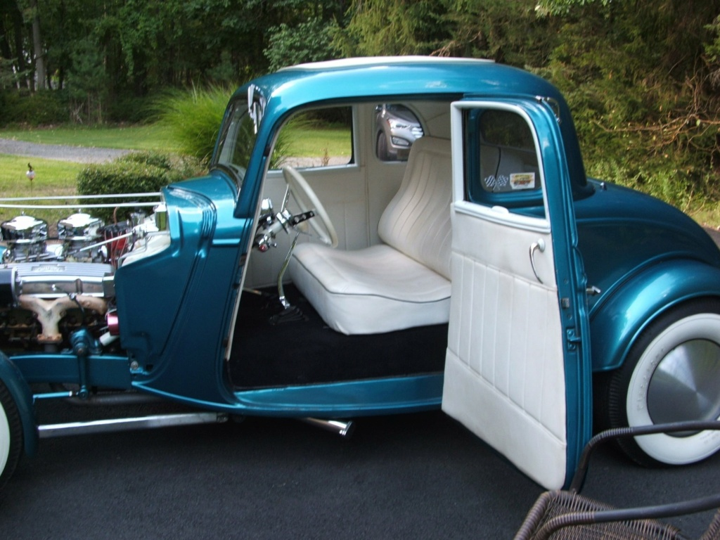 1934 Ford 5 Window Coupe hot rodded in 1967 19412010