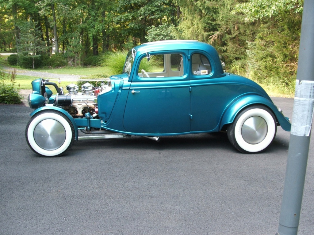 1934 Ford 5 Window Coupe hot rodded in 1967 19429810
