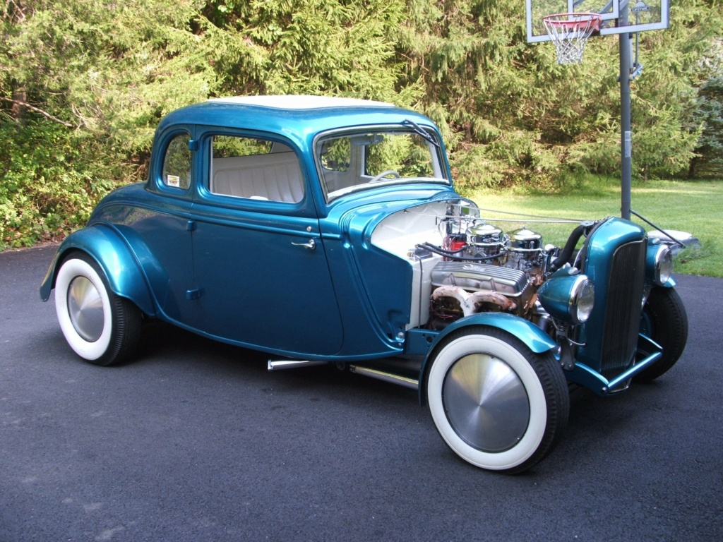 1934 Ford 5 Window Coupe hot rodded in 1967 19478610