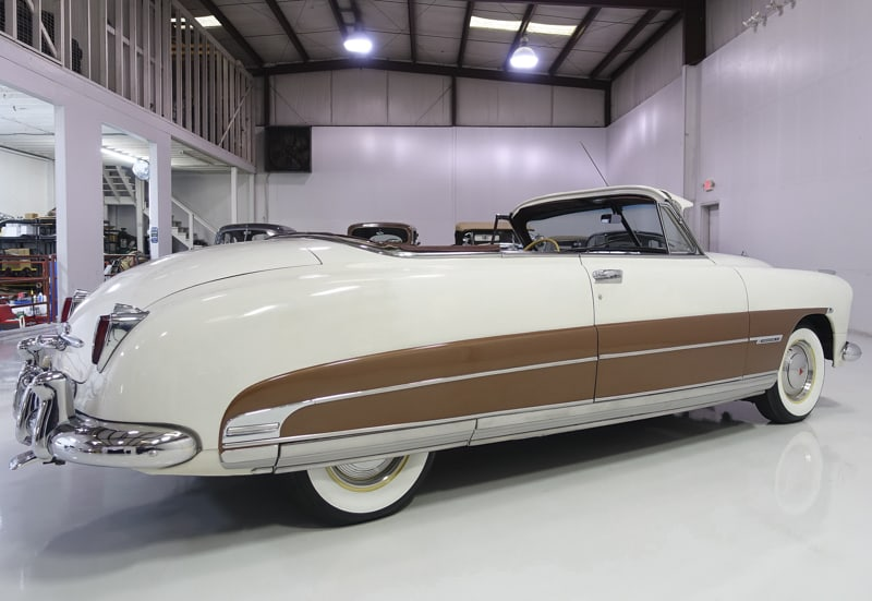 1950 Hudson Commodore Series Six Brougham Convertible owned by Steve McQueen 1950-h11