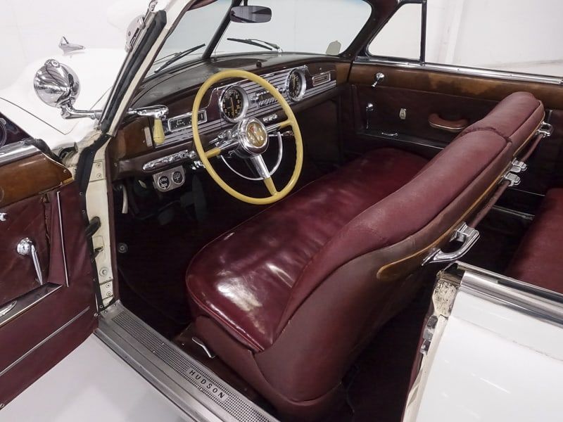 1950 Hudson Commodore Series Six Brougham Convertible owned by Steve McQueen 1950-h20