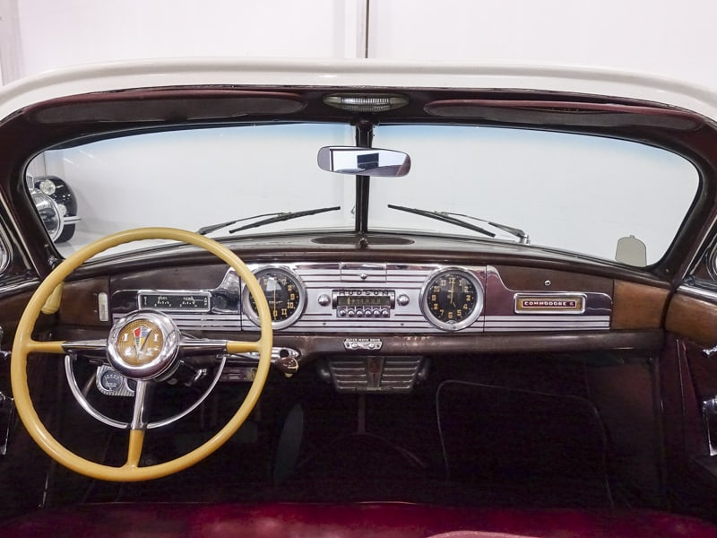 1950 Hudson Commodore Series Six Brougham Convertible owned by Steve McQueen 1950-h21